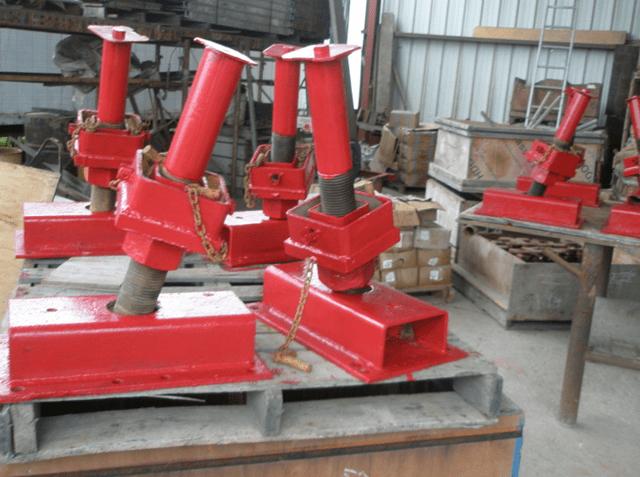 Screw Jacks For Shoring : K leg construction enterprises inc